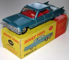 Dinky Toys, 147, Cadillac 62, rare | eBay