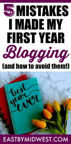 I recently celebrated my first year blogging. I've made a lot of mistakes but also loved the entire experience. To help jump-start your blogging career, read about these blogging mistakes that I made during my first year blogging. I hope that my experiences will help you avoid some of the same mistakes! Learn to blog | How to start a blog | Blogging tips | Blog tips | #blog #blogging Make Money Blogging, How To Make Money, Twitter Tips, Blogger Tips, Creating A Blog, Blog Planner, Blogging For Beginners, Online Marketing, Content Marketing