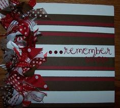 Take cheap photo albums and scrapbook the fronts to spiffy them up