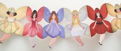 Paper Dollsfabric   ... paper dolls collage sheet at right for collaging and making paper doll