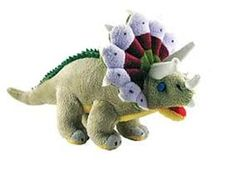 Cuddle Zoo Triceratops - Stuffed Animal Dinosaur Toy 12