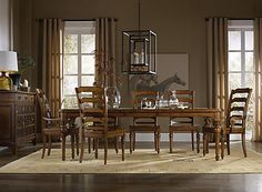 Hooker Furniture Tynecastle 9 Piece Rectangle Dining Set from Furniture Crate | $3565