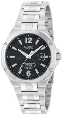 Citizen Mens BM5030-53E Eco-Drive Stainless Steel Watch
