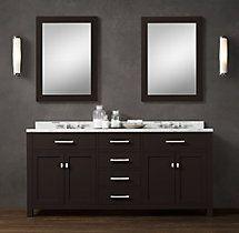 hutton vanity bath collection - white | restoration hardware