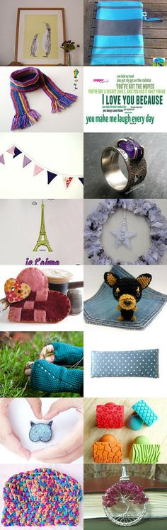 Perfect gifts! TreasuryTuesday by clara saenz on Etsy--Pinned with TreasuryPin.com