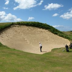 "My Nightmare... Royal Portrush GC, ""Big Nellie"" #GolfCourseOfTheDay I Rock Bottom Golf #rockbottomgolf"
