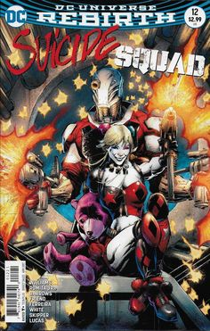 DC Rebirth Suicide Squad comic issue 12 Limited variant