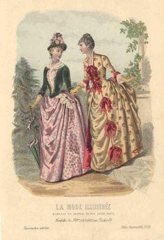 1886 La Mode Illustree