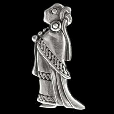 Viking valkyrie pendant vikings celtic norse scandinavian garb pendant in the shape of a woman modelled on a swedish find 9th 10th century thought to represent freya aloadofball Images