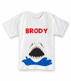 personalized shark tee - Chasing Fireflies