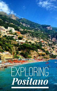 Positano Italy - The postcard perfect town clinging to the cliffs over the sea and home of the Black Madonna. Beautiful photos, history and tips on finding the Madonna.