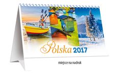 Kalendarz biurkowy - gotowy - POLSKA