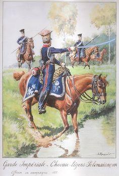 Ufficiale superiore uniforme da campagna 1812