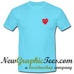 Garcon Heart Soul Eyes T Shirt