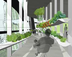 Urban Plant Tower would allow tenants to grow food year-round in a flourishing winter garden | Inhabitat New York City