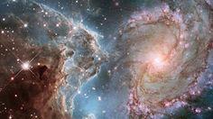Soluço cósmico, poesia de Paulo Rogério da Motta: Um estrondo ressoa no infinito. / Em meio ao buraco negro surge a luz. / Tempo e espaço são unidos...
