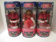 Irving Berlin's White Christmas Dolls 1998 NIB Exclusive Premiere Bing Crosby