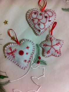 felt Holiday Ideas, Holiday Decor, Christmas Crafts, Christmas Ornaments, Felt, Xmas, Felting, Christmas Jewelry, Feltro