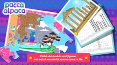 Feed your little's one's imaginations with Travel Playtime: join the dots, solve jigsaw puzzles and create unique paintings, all set in exotic locations around the world!