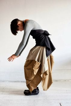 Recycled Shirt Clothes by Studio Mücke; love those shoes too!