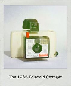 Throwback Thursday to 1965 when #Polaroid introduced the Swinger - a $20 camera that took wallet-sized black and white pics! #tbt