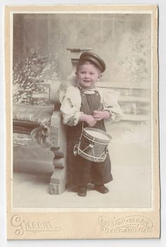 Little Drummer Boy Antique Identified by FamilyTreeAntiques, $40.00