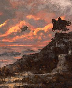 This HD wallpaper is about fantasy art, Berserk, Original wallpaper dimensions is file size is Fantasy Places, Fantasy World, Dark Fantasy, Fantasy Art, Tolkien, Manga Anime, Anime Art, Old School Cartoons, Art Station
