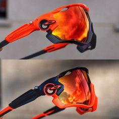 Which one ?#oakleyjawbreaker #oakleycustom #orangeisthenewblack #rubyiridium #jawbreaker #oakley #oakleybike #outdoorevasion #cyclingstyle