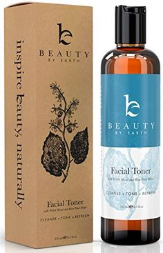 Witch Hazel Face Toner - Organic Rose Water Facial Toner for Women With Hydrating Aloe Vera, Rosewater Toner for Face, Skin Toner pH Balancing Natural Skin Care Products, Beauty Products for Women Toner For Face, Skin Toner, Facial Toner, Facial Cleansing, Natural Facial, Natural Skin Care, Natural Beauty, Witch Hazel Face, Organic Witch Hazel