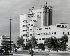 Mid XXth century Bucharest modernist heritage in danger / Bazaltin Building, built in architect Marcel Iancu. Marcel, Interesting Buildings, Modernism, Romania, Scenery, Multi Story Building, Art Deco, City, Dan