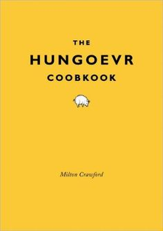 And falling into the category of things we need: The Hungover Cookbook