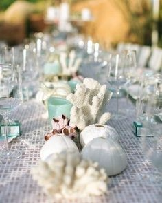 Seafoam beach wedding ideas ideas and more ideas about how to beach themed wedding table decoration ezeevents wedding junglespirit Image collections