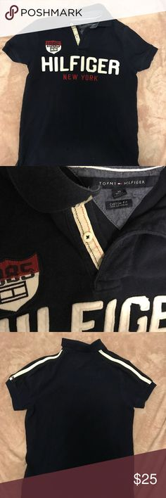 Vintage Tommy Hilfiger Polo Size XS men's custom fit vintage Tommy polo shirt. Classic logos and a great piece all around. Fits small men's, large kids and women as well Tommy Hilfiger Shirts Polos