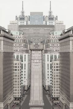 """Dreamy Photos of New York Architecture Capture the """"Secret Lives of Buildings"""" New York City Buildings, New York Landmarks, New York Attractions, New York Architecture, Minimalist Architecture, Urban Fabric, White Building, Photo Series, New York Street"""