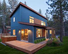 Contemporary ecological modular prefab house (evolving design) EVOLUTION Blu Homes