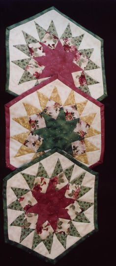 Christmas Cheer PDF Pattern  Placemats by AltogetherPatchwork, $6.00