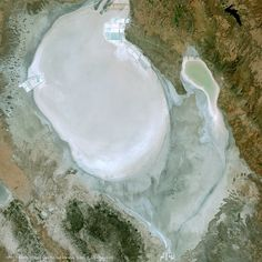 Lake Tuz is one of the largest hypersaline lake with a surface area of 1,665 sq. Km and 11,900 sq. km of catchment area, located at the central Anatolia region, Turkey.  Lake fed by steams, groundwater and precipitation, as water store in tectonic depression so it has no outlet, and during the summer evaporation increased its salinity. SPOT 7 Satellite courtesy of Airbus Defence and Space 2017 captured the image of the lake on 09/02/2014, shows bright reflectance and its surface area.