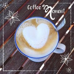 Had a lovely coffee moment this morning <3 #coffeemoment #coffeelove #iheartcoffee #enjoythesmallthingsinlife #livemindfully #startthedayhappy #startwithcoffee #heart #katrinmeiller