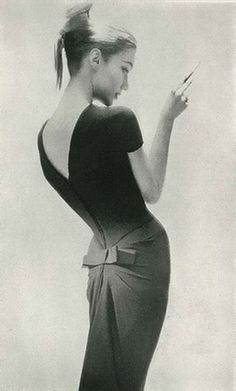 Harper's Bazaar 1956...proving that less is more.