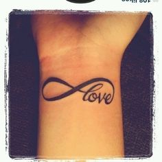 #love #wrist #tattoo