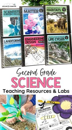 Are you looking for engaging science lessons with activities, science experiments, and hands-on projects? This complete second grade science curriculum bundle has it all, with teaching PowerPoints and detailed lesson plans included for each unit. Ideal for 2nd grade students in the classroom and homeschool. Science Curriculum, Science Resources, Science Experiments Kids, Science Classroom, Science Lessons, Teaching Science, Science Activities, Teaching Resources, Teaching Ideas
