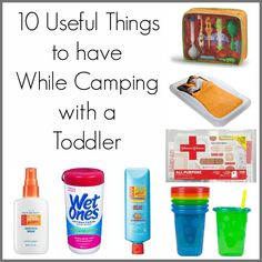 10 Useful Things to Have While Camping with a Toddler #camping #kids
