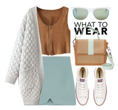 """""""Spring Love"""" by jiabao-krohn ❤ liked on Polyvore featuring Diesel and Converse"""