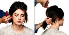 60's hair how to
