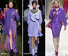 Spring/ Summer 2017 Color Trends: Purple & Lilac