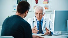 5076 Patient And Senior Doctor I Stock 000017801131 Large
