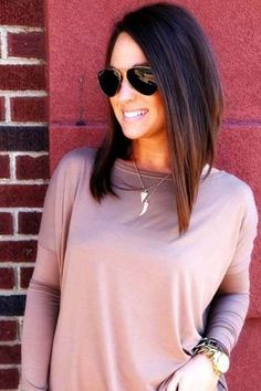 wanna give your hair a new look? Long bob hairstyles is a good choice for you. Here you will find some super sexy Long bob hairstyles, Find the best one for you, Long Bob Hairstyles, Trending Hairstyles, Pretty Hairstyles, Perfect Hairstyle, Stacked Hairstyles, Medium Haircuts, Long Haircuts, Hairstyles 2016, Popular Hairstyles