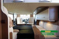 Roller Team T-Line Garage - il basculante anteriore Roller Team, T Line, Bunk Beds, Garage, Furniture, Home Decor, Caravan Van, Carport Garage, Decoration Home