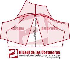 Mangas de la Blusa Campesina | EL BAÚL DE LAS COSTURERAS