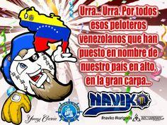 Naviko se llena de orgullo y emoción al rendirle tributo a aquellos héroes del guante y la pelota que siempre darán todo para poner el nombre de Venezuela en la sima mas alta de la historia del béisbol fuera de nuestro país. #karigrafix/arte #naviko
